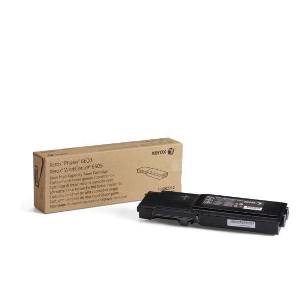Toner schwarz Xerox WorkCentre 6605 & Phaser 6600