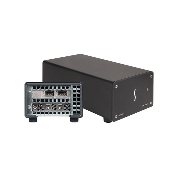 Sonnet Twin 10G SFP+ Thunderbolt 3 zu Dual 10 Gigagit Ethernet Adapter