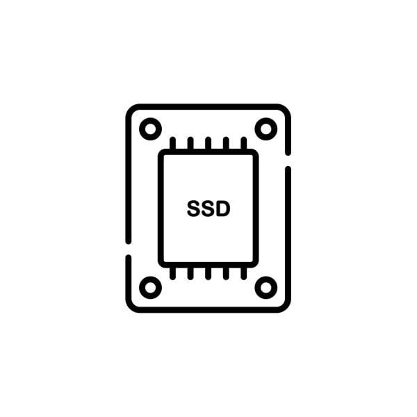 Reserve Einschub SSD für Areca ThunderBox3 SSD 1 TB