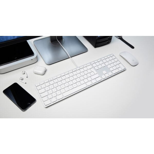 LMP USB Tastatur mit Zahlenblock UK EN Layout 10 Pack