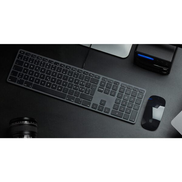 LMP USB Tastatur mit Zahlenblock US Layout