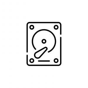 Reserve Einschub HDD Server Edition für Netstor ThunderRAID 400 & 800  3 TB