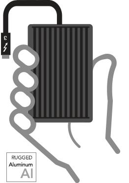 Sonnet Solo 10G Thunderbolt 3 zu 10GBaseT/NBaseT Ethernet Adapter