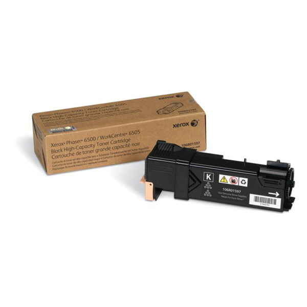 Toner High Capacity schwarz Xerox WorkCentre 6505/Phaser 6500