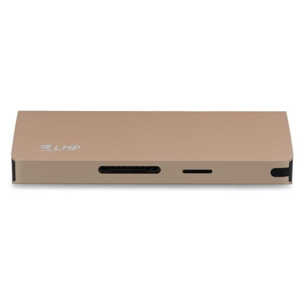 LMP USB-C Travel Dock 4K 9 Port 10 Pack