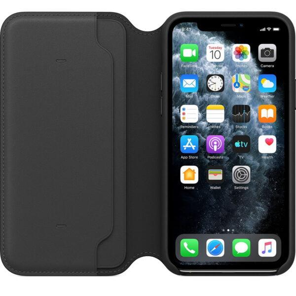 iPhone 11 Pro Max Leather Folio