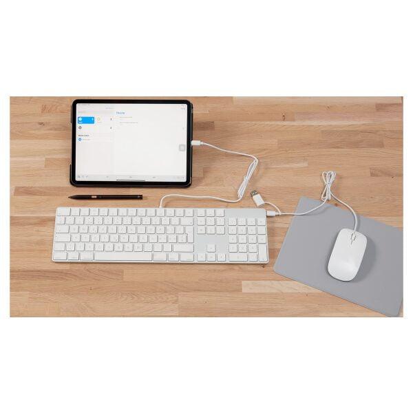 LMP USB-C Tastatur mit Zahlenblock CZ Layout 50 Pack