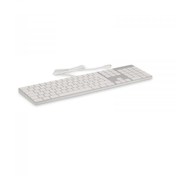 LMP USB-C Tastatur mit Zahlenblock IS Layout