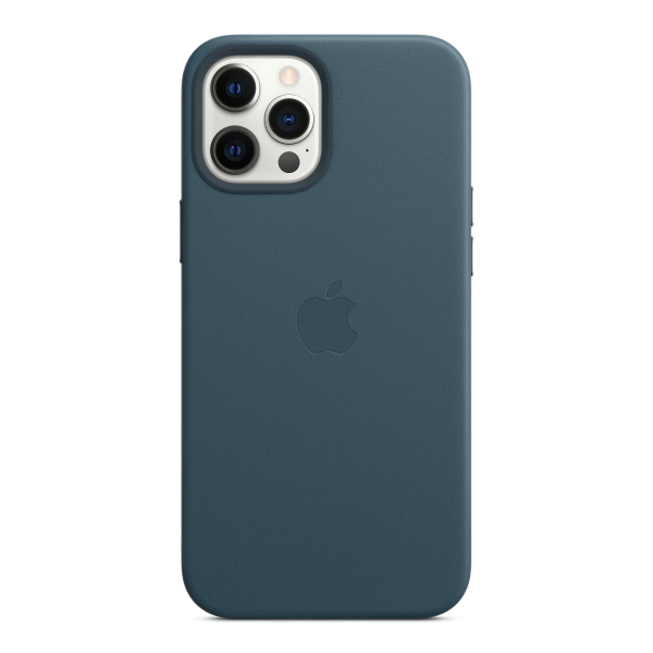 Apple iPhone 12 Pro Max Leather Case mit MagSafe