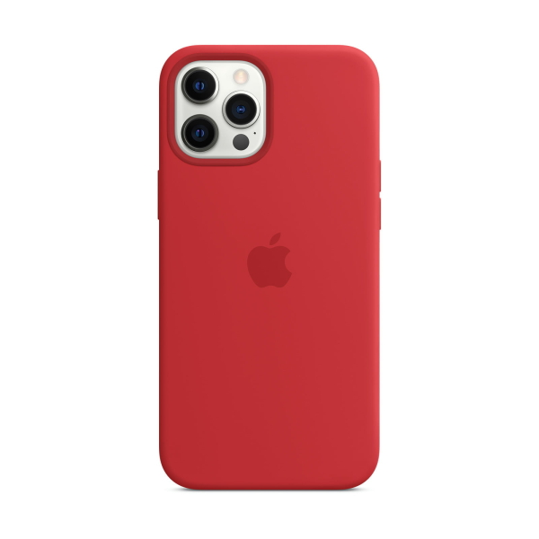Apple iPhone 12 Pro Max Silicone Case mit MagSafe