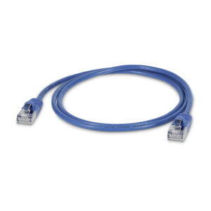 LMP Ultra Slim Round Ethernet Patchkabel 0.25 m 100 Pack