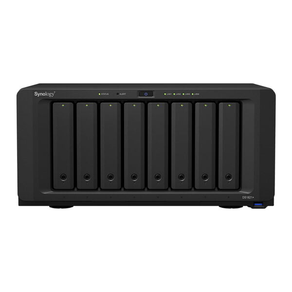 Synology DiskStation DS1821+ 80 TB